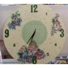 Orologio da parete - Il Mio Nido - Decorato a mano
